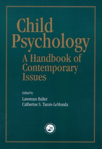 9781841694122: Child Psychology: A Handbook of Contemporary Issues