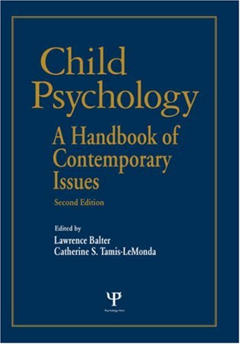 9781841694153: Child Psychology: A Handbook of Contemporary Issues