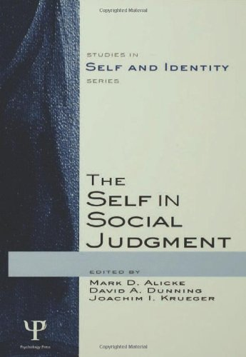9781841694184: The Self in Social Judgment (Studies in Self and Identity)