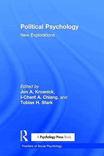 9781841694450: Political Psychology: New Explorations (Frontiers of Social Psychology)