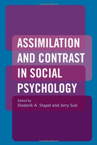 9781841694498: Assimilation and Contrast in Social Psychology