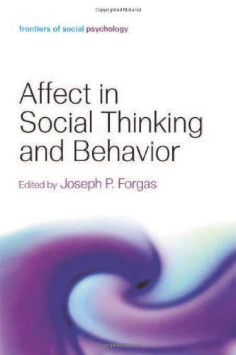 9781841694542: Affect in Social Thinking and Behavior (Frontiers of Social Psychology)