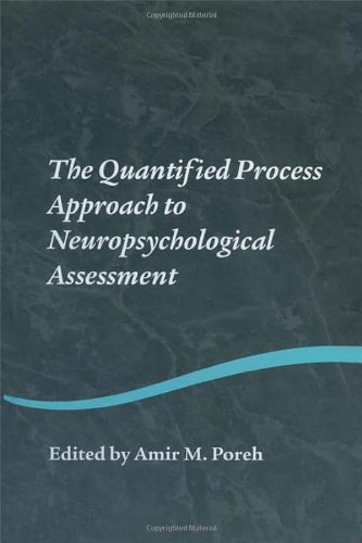 9781841694566: The Quantified Process Approach to Neuropsychological Assessment (Studies on Neuropsychology, Neurology and Cognition)