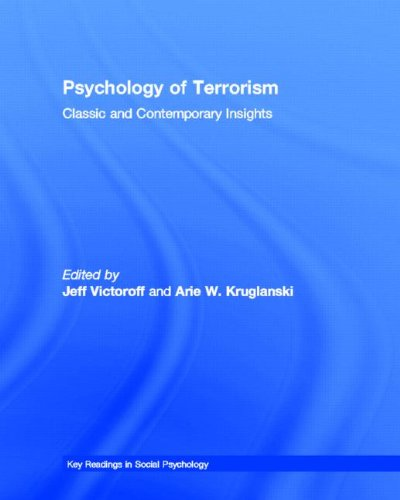 9781841694641: Psychology of Terrorism: Classic and Contemporary Insights (Key Readings in Social Psychology)
