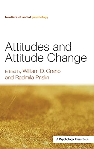 9781841694818: Attitudes and Attitude Change (Frontiers of Social Psychology)