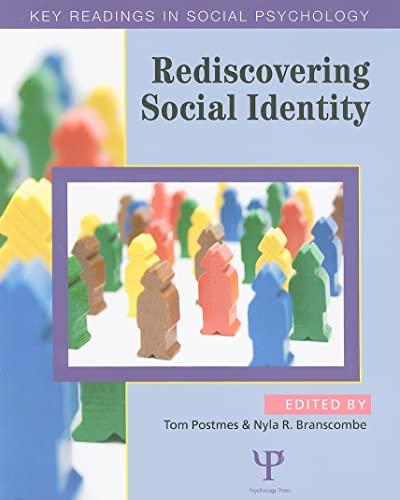 9781841694924: Rediscovering Social Identity (Key Readings in Social Psychology)