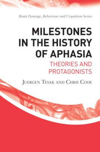 9781841695136: Milestones in the History of Aphasia: Theories and Protagonists (Brain, Behaviour and Cognition)