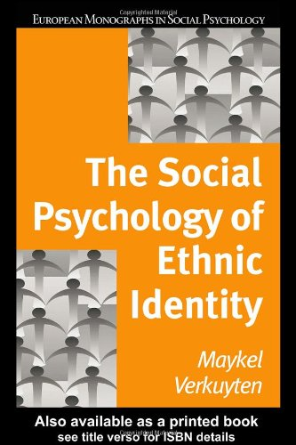 9781841695327: The Social Psychology of Ethnic Identity (European Monographs in Social Psychology)