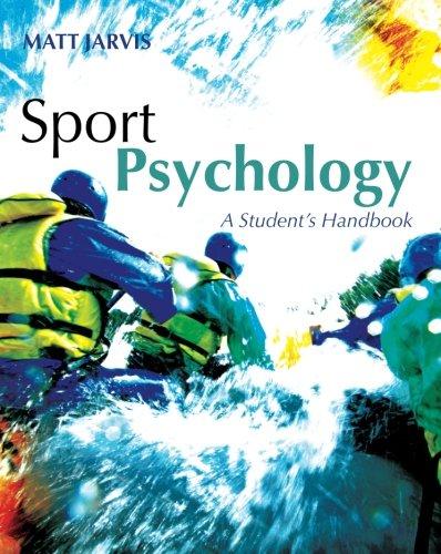 9781841695822: Sport Psychology: A Student's Handbook