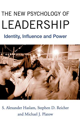 9781841696096: The New Psychology of Leadership: Identity, Influence and Power