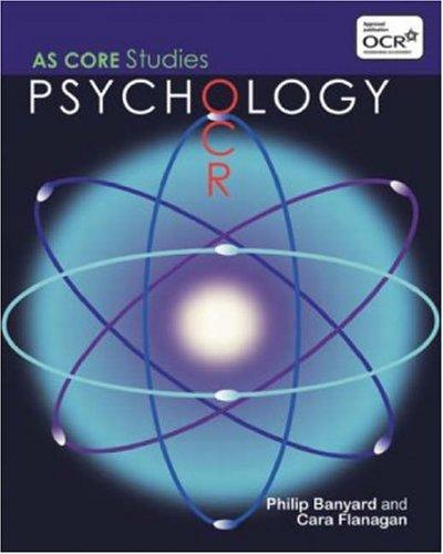 9781841696522: OCR Psychology: AS Core Studies