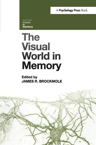 9781841696843: The Visual World in Memory (Current Issues in Memory)