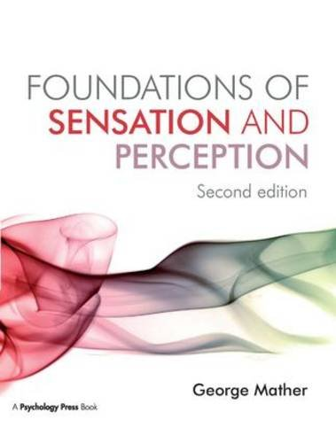 9781841696980: Foundations of Sensation and Perception: Second Edition