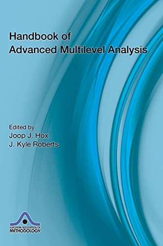 9781841697222: Handbook of Advanced Multilevel Analysis (European Association of Methodology Series)