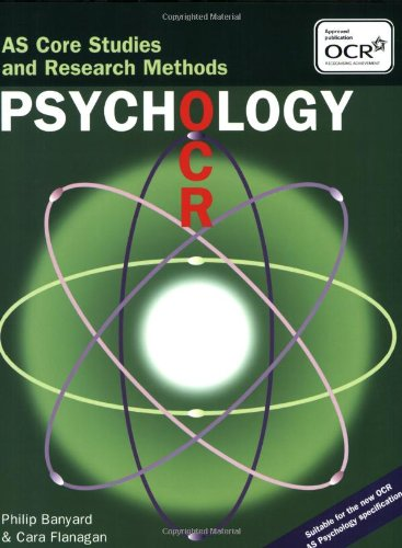 9781841697284: OCR Psychology: AS Core Studies and Research Methods