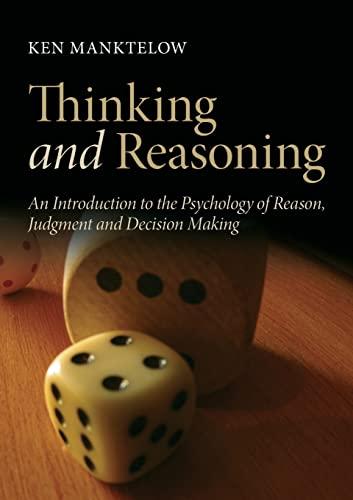 9781841697413: Thinking and Reasoning