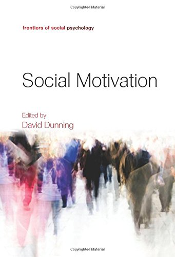 9781841697543: Social Motivation (Frontiers of Social Psychology)