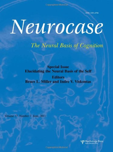 9781841698311: Elucidating the Neural Basis of the Self: A Special Issue of Neurocase (Special Issues of Neurocase)