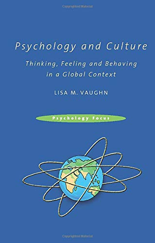 9781841698731: Psychology and Culture: Thinking, Feeling and Behaving in a Global Context (Psychology Focus)