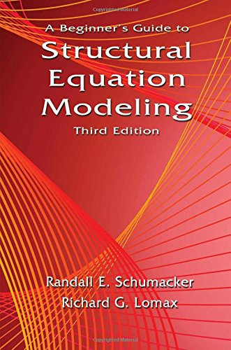 9781841698908: A Beginner's Guide to Structural Equation Modeling: Third Edition