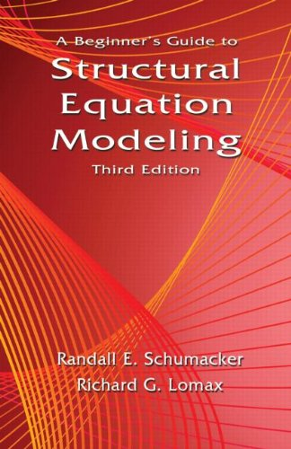 9781841698915: A Beginner's Guide to Structural Equation Modeling: Third Edition