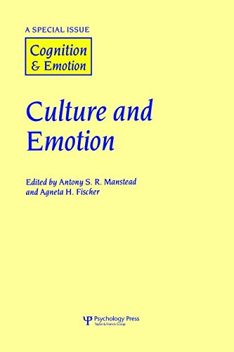 9781841699240: Culture and Emotion: A Special Issue of Cognition and Emotion (Special Issues of Cognition and Emotion)