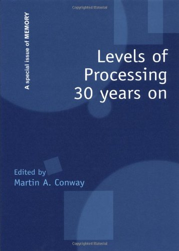 9781841699349: Levels of Processing 30 Years On: A Special Issue of Memory (Special Issues of Memory)