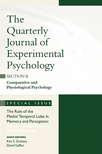 9781841699981: The Role of Medial Temporal Lobe in Memory and Perception: Evidence from Rats, Nonhuman Primates and Humans: A Special Issue of the Quarterly Journal ... of Experimental Psychology: Section B)