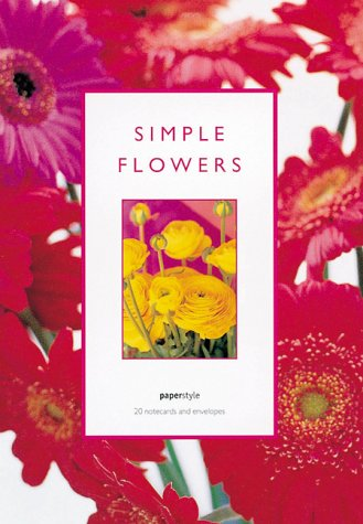 Simple Flowers Notecards (9781841720142) by Paperstyle