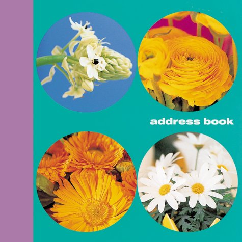 9781841720197: Simple Flowers Address Book