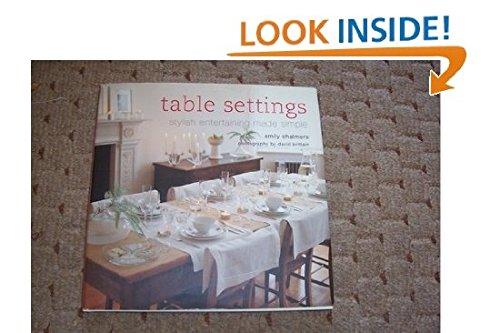 9781841729435: Table Settings