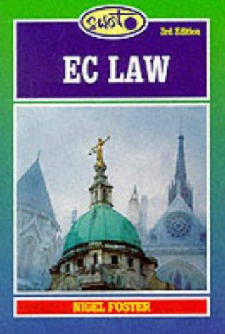 EC Law: Foster, Nigel