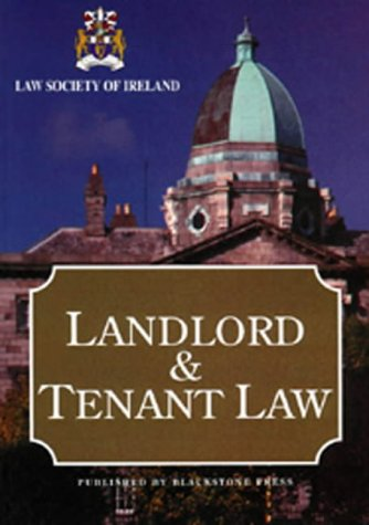 9781841741772: Landlord and Tenant Law (Law Society of Ireland)