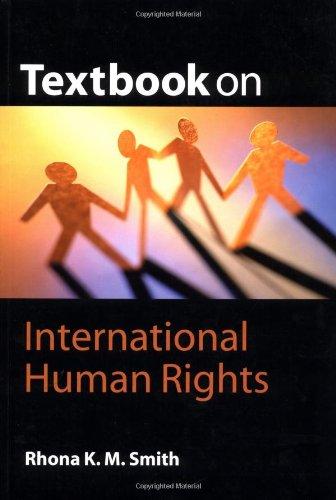 9781841743011: Textbook on International Human Rights
