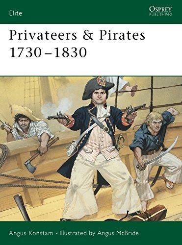 9781841760162: Privateers & Pirates 1730–1830 (Elite)