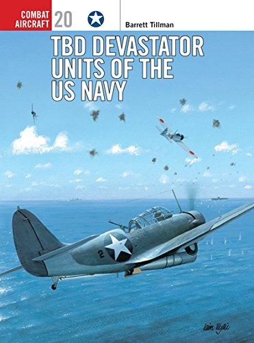 TBD Devastator Units of the US Navy (Osprey Combat Aircraft 20) - Tillman, Barrett