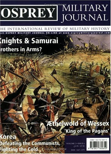 9781841760650: Osprey Military Journal Issue 2/6: The International Review of Military History