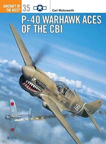 9781841760797: P-40 Warhawk Aces of the CBI