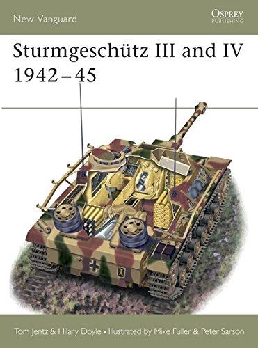 9781841761824: Sturmgeschutz III and IV 1942-45 (Osprey New Vanguard)