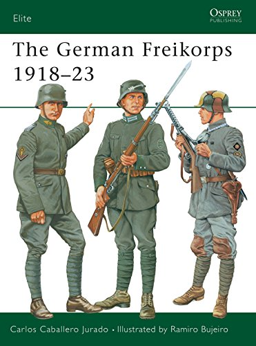 9781841761848: The German Freikorps 1918-23 (Elite)