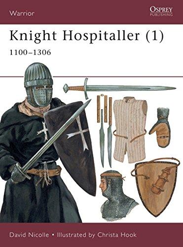 9781841762142: Knight Hospitaller (1): 1100-1306 (Warrior): 1100-1306 Pt.1