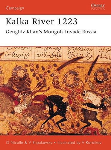 Kalka River 1223: Genghiz Khan's Mongols invade: Shpakovsky, Viacheslav, Nicolle,