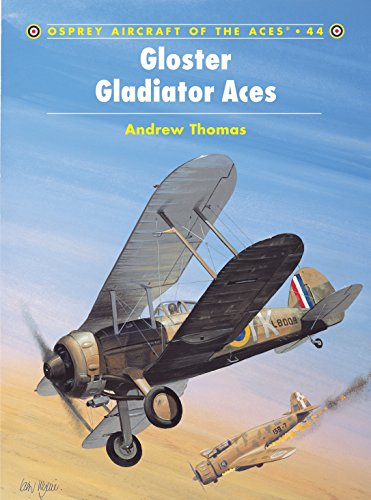 9781841762890: Gloster Gladiator Aces (Osprey Aircraft of the Aces No 44)