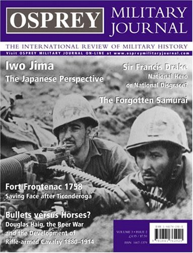 9781841762920: Osprey Military Journal Issue 3/2: The International Review of Military History