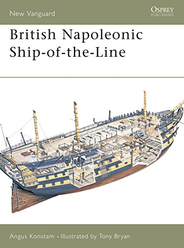 9781841763088: British Napoleonic Ship-of-the-Line (New Vanguard)