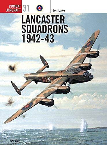 9781841763132: Lancaster Squadrons 1942-43 (Osprey Combat Aircraft)
