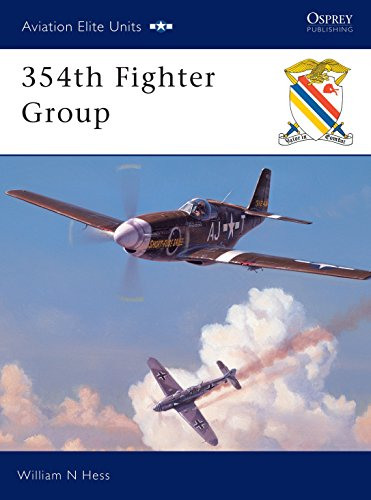 354th Fighter Group (Osprey Aviation Elite 7): Hess, William N; Davey, Chris [Illustrator]