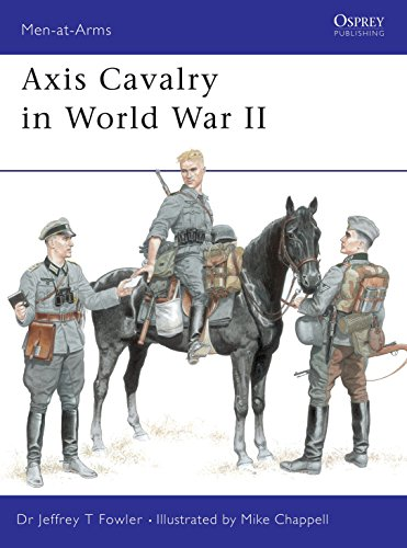 9781841763231: Axis Cavalry in World War II (Men-at-Arms)