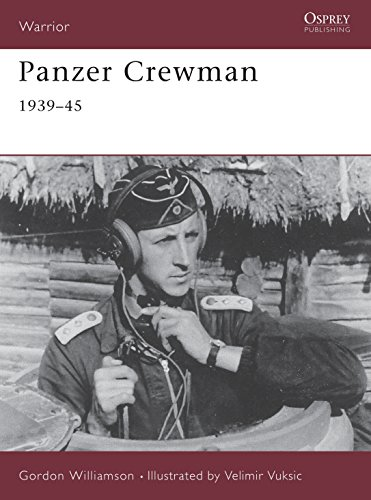 Panzer Crewman 1939-45 (Warrior): Williamson, Gordon