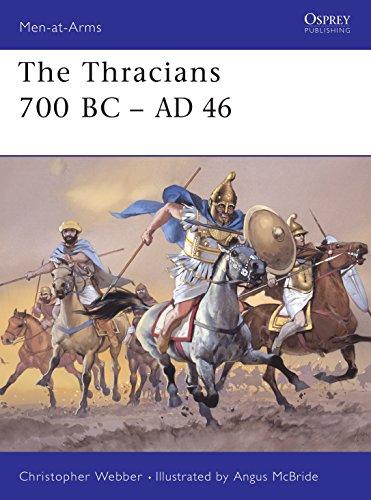 9781841763293: The Thracians 700 BC–AD 46 (Men-at-Arms)